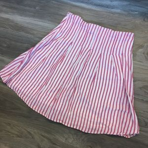 Old Navy Striped Metallic Low Waisted Skirt Size 2